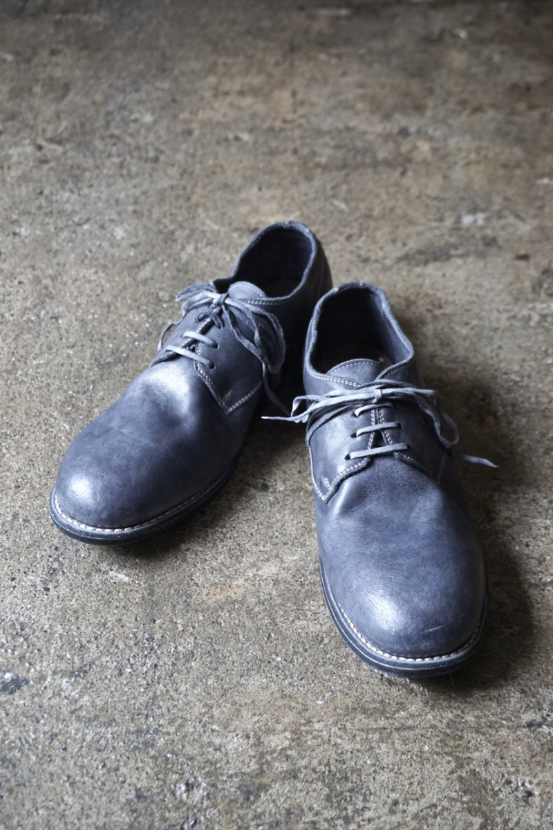 No 992  Shoes Man Classic Derby  Co49t Grey   Guidi